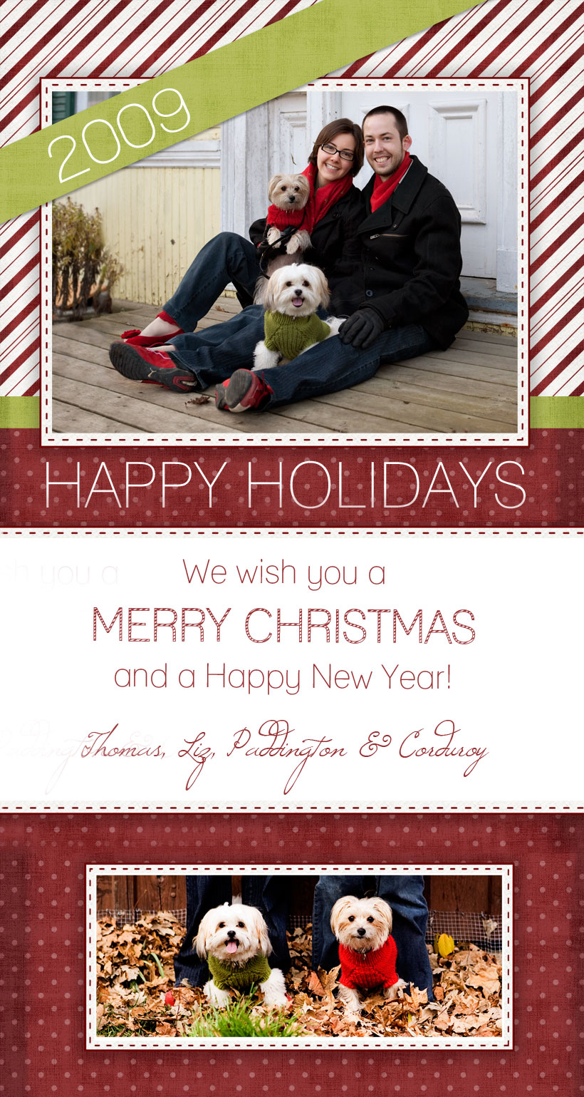 Merry Christmas and Happy Holidays from elizabeth&jane photography