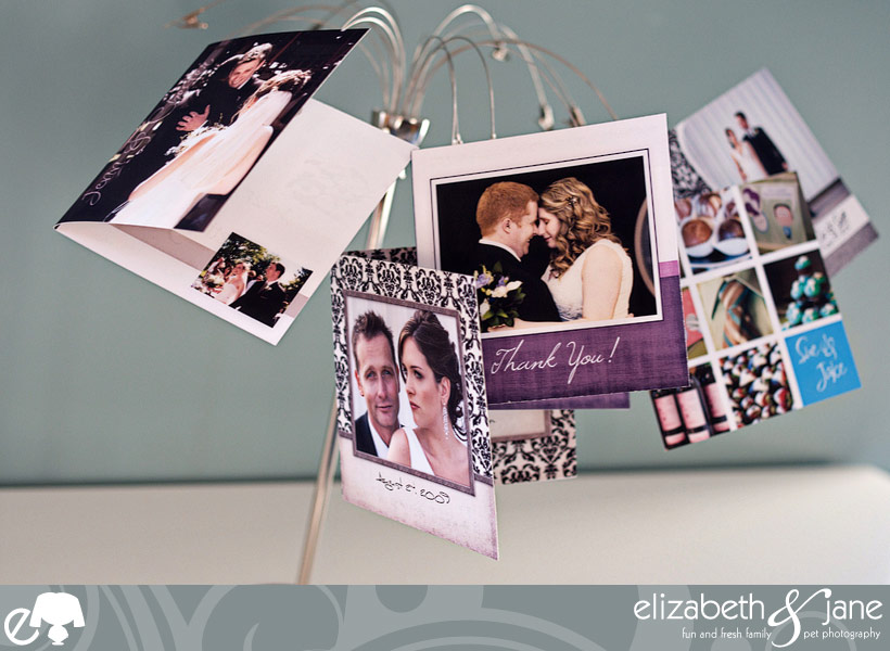 Complimentarty Custom Wedding Thank You Cards