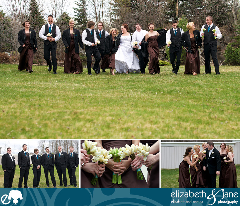 Kelly and Christpher's Wedding - The Wedding Party