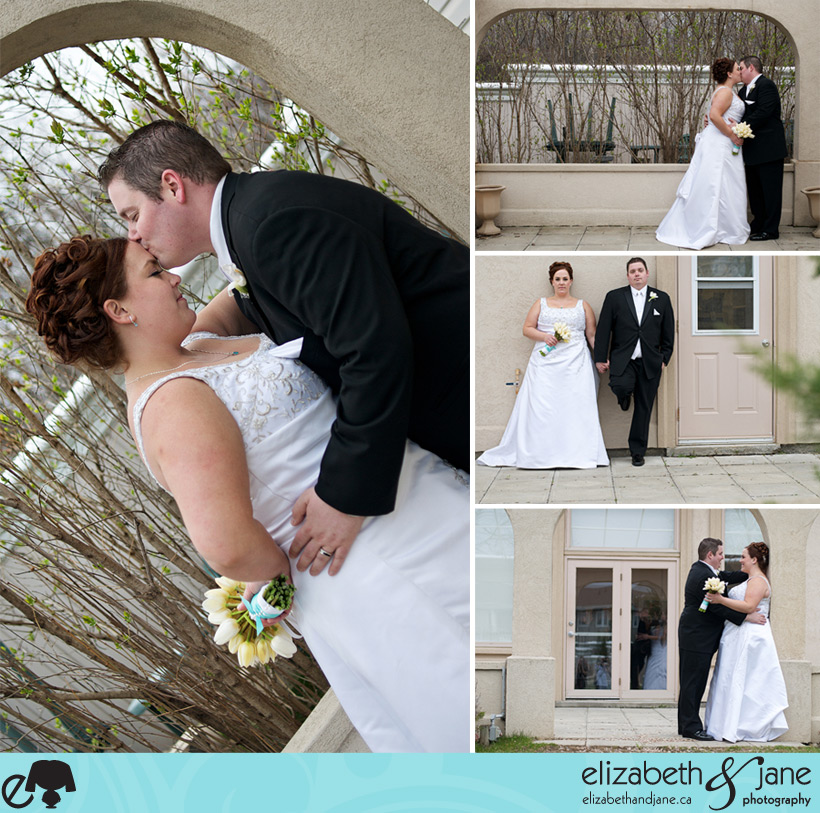 Kelly and Christpher's Wedding - The Bride and Groom Portraits