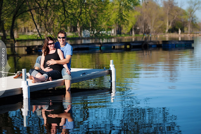 Marie and Michael Maternity Session photography by Liz Bradley of elizabethandjane.ca
