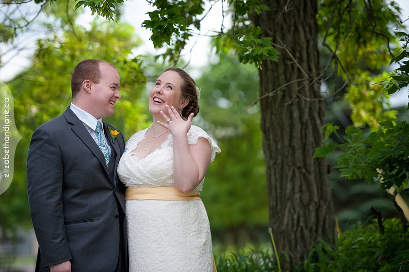 Melissa and Evan's June Wedding at The Schoolhouse in Ottawa, photographed by Liz Bradley of elizabeth&jane photography