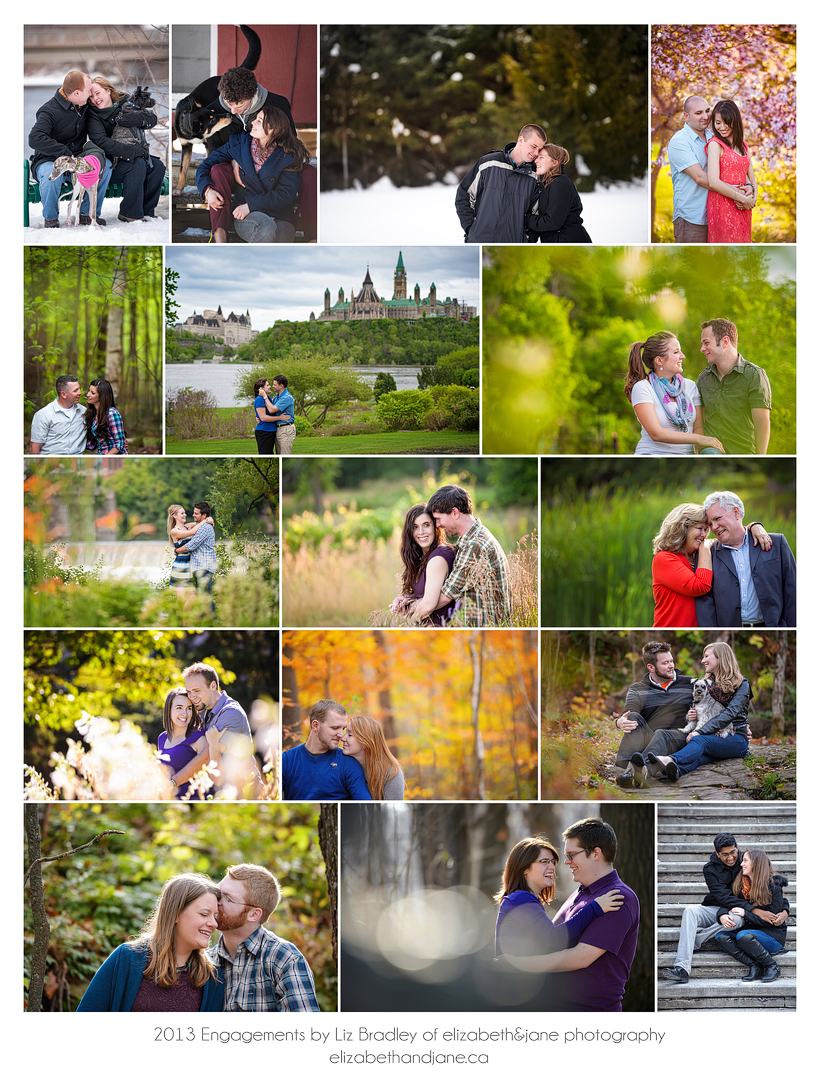 2013 Engagements by Liz Bradley of elizabeth&jane photography