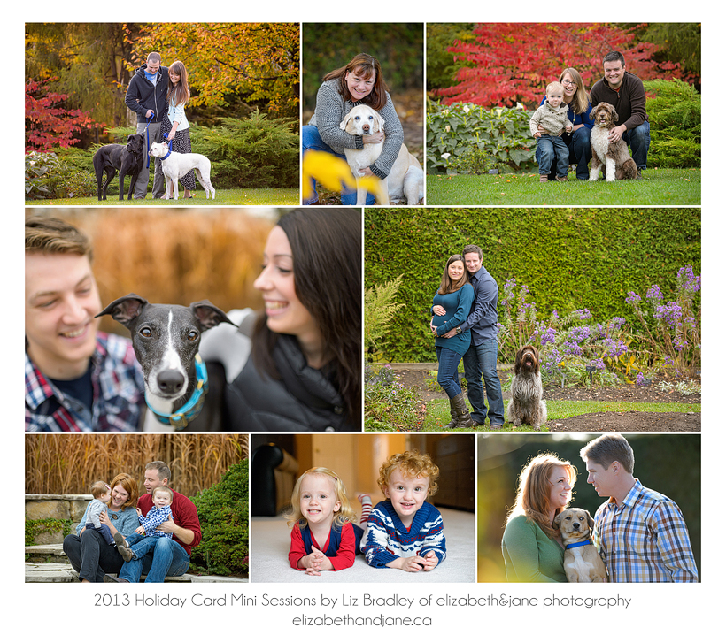 2013 Holiday Card Mini Sessions by Liz Bradley of elizabeth&jane photography