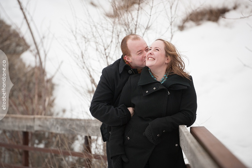 Melissa and Evan's Engagement session with their dog photographed by Liz Bradley of elizabeth&jane photography