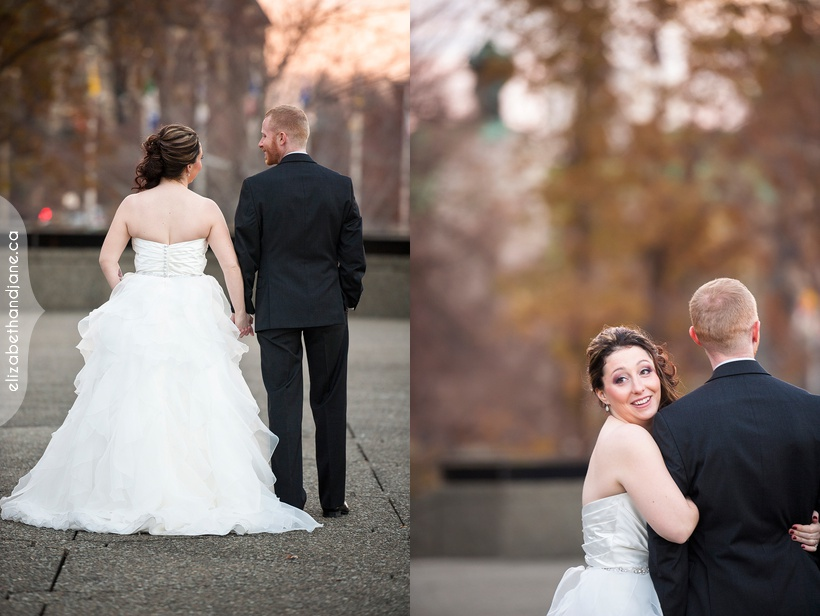 A beautiful wedding at the National Arts Centre in Ottawa photographed by Liz Bradley of elizabeth&jane photography