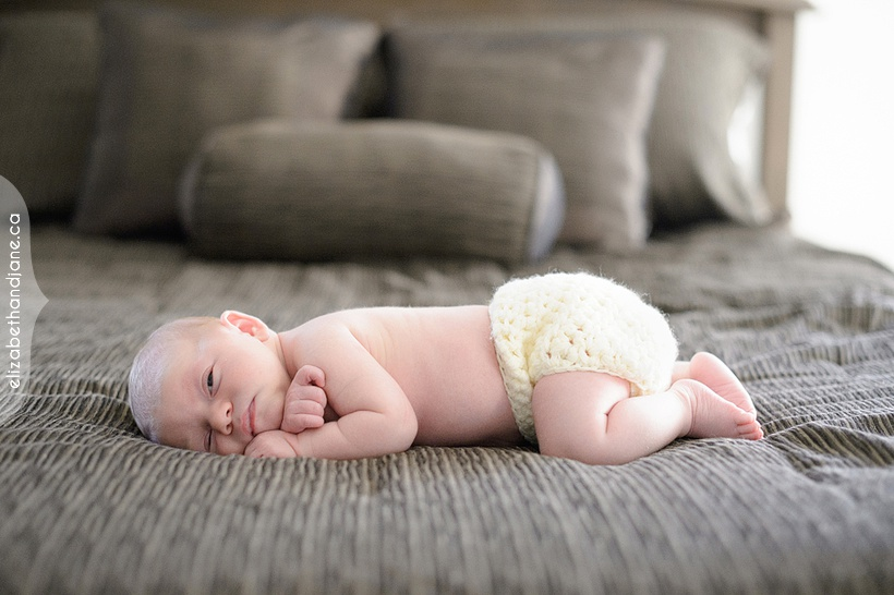 Baby Marcie photographed in Ottawa by Liz Bradley of elizabeth&jane photography