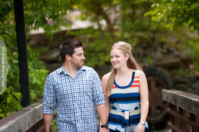 Stephanie and Jarrod's engagement photographed in Ottawa by Liz Bradley of elizabeth&jane photography