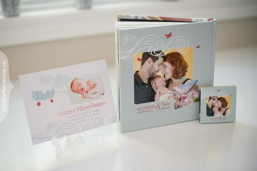 Newborn Vincent's products products photographed in Ottawa by Liz Bradley of elizabeth&jane photography