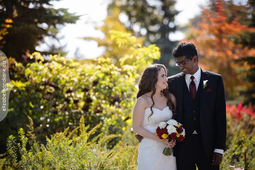 Alison and Ragunath were married in Ottawa and photographed by Liz Bradley of elizabeth&jane photography