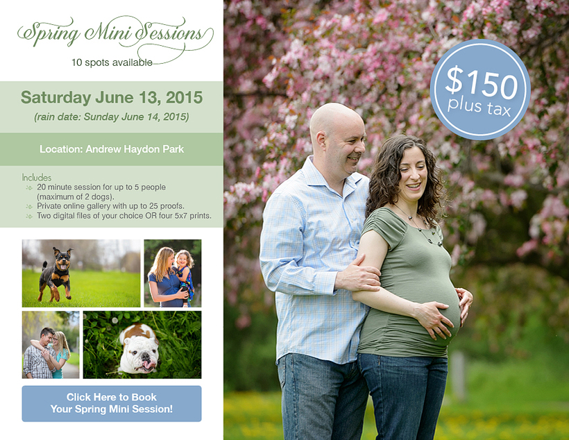 Spring Mini Sessions with elizabeth&jane photography