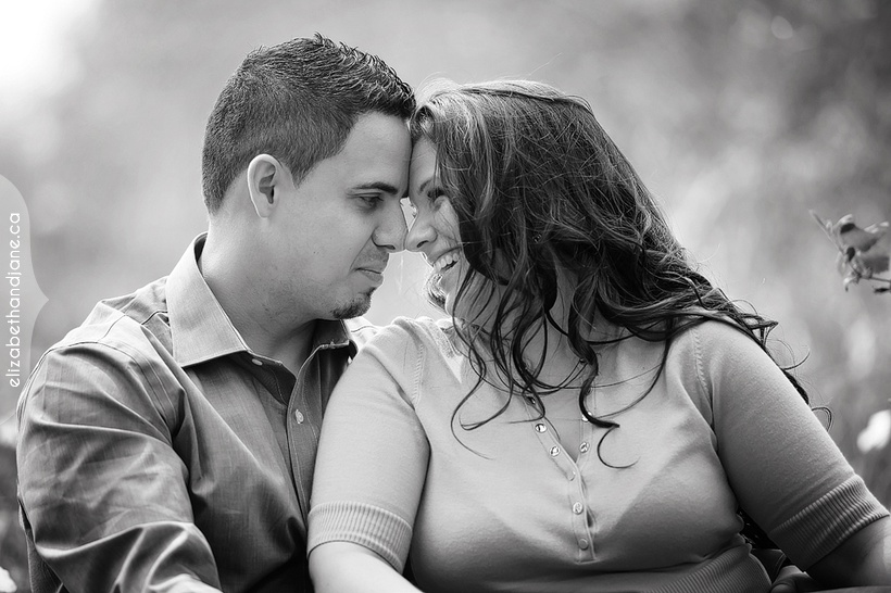 Nathalie and Bruno's Engagement in Ottawa photographed by Liz Bradley of elizabeth&jane photography