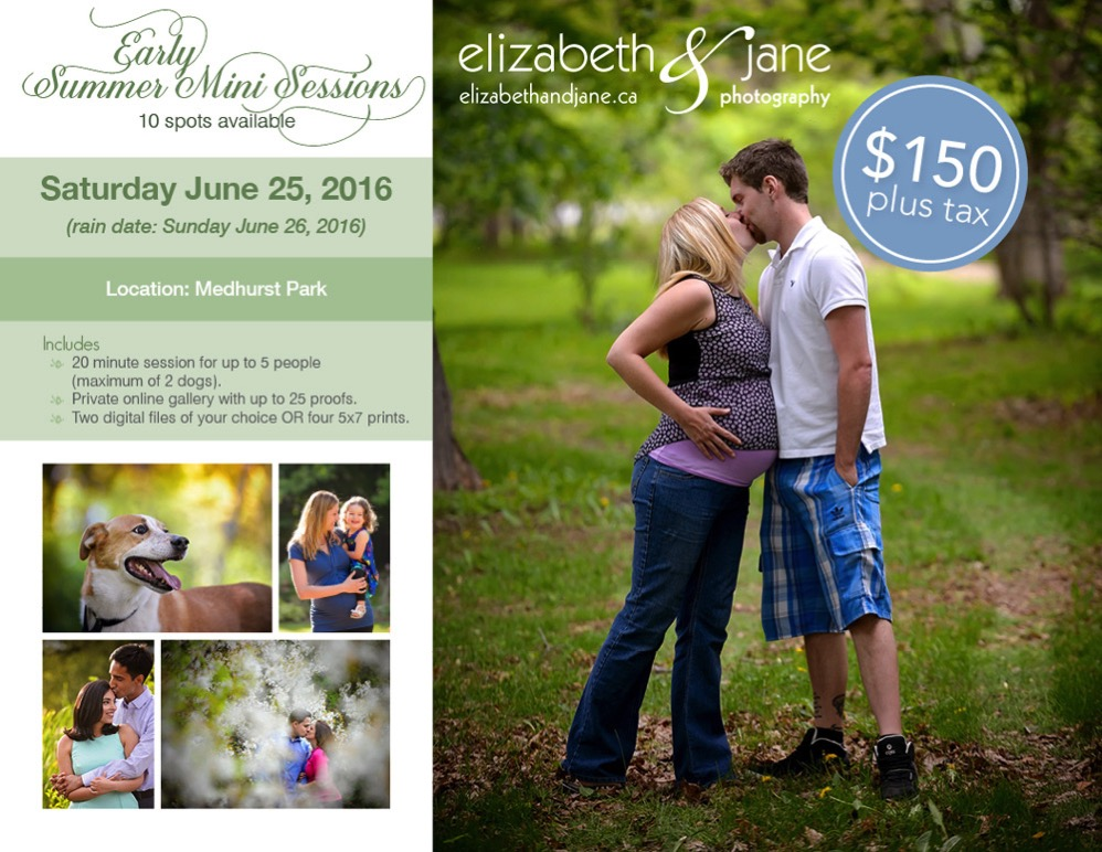 Summer mini sessions with elizabeth&jane photography