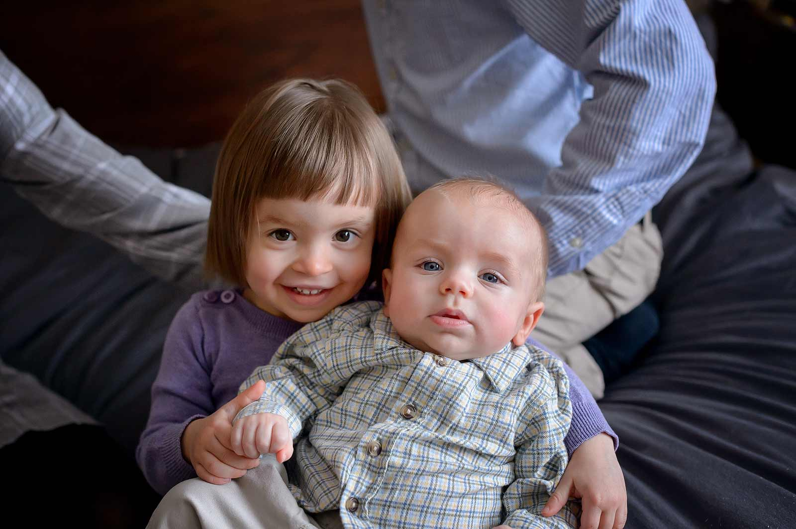 Sweet photo of two siblings together