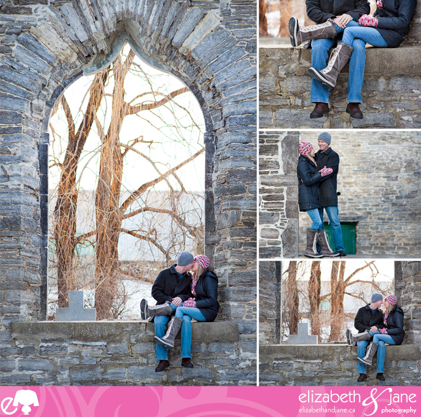 Engagement photography of the Hilary and Phil at Pinheys Point in Ottawa