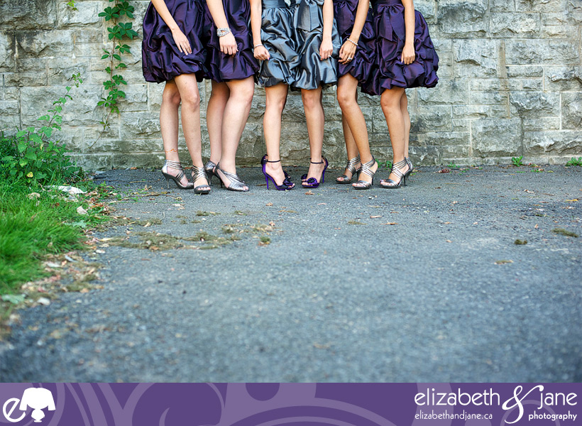 Bridesmaids fantastic shoes